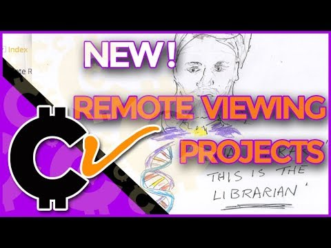 Major New Remote Viewing Work Coming!