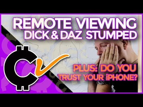Remote Viewing: Dick & Daz Stumped